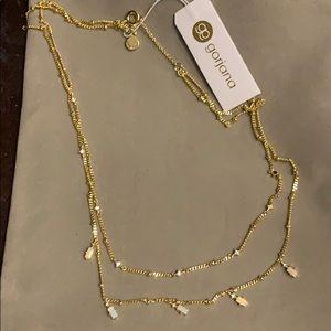 Gorjana beautiful layered necklace